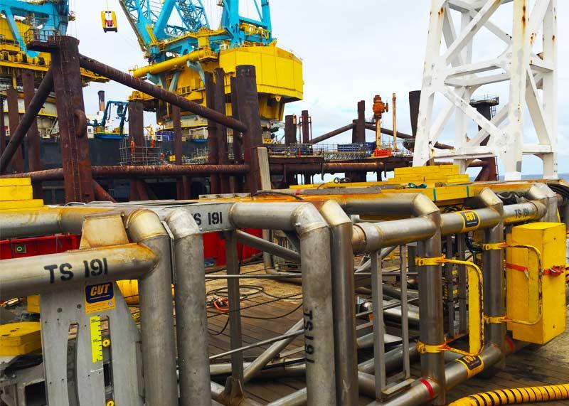 Miller Platform Decommissioning